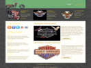 Thumbnail Harley Davidson Wordpress Theme - PLR