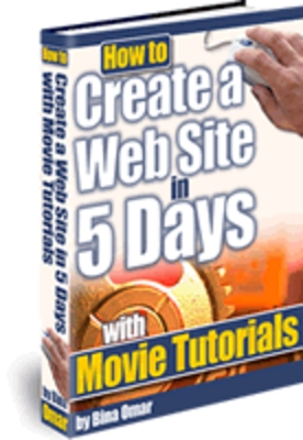 Product picture How to Create a Web Site in 5 Days