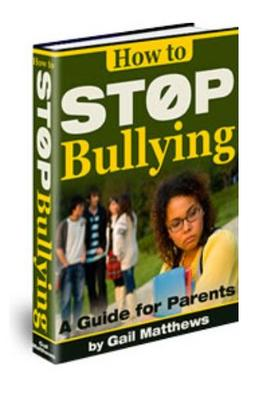 Product picture How to Stop Bullying - How to Stop Bullying Once and for All