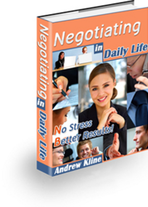 Product picture Negotiating in Daily Life